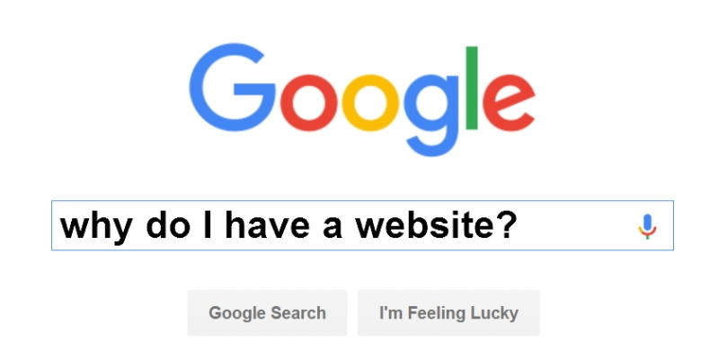 google-why-do-I-have-a-website